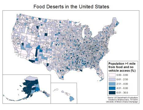 Food Deserts Across America Need An Oasis   CulEpi